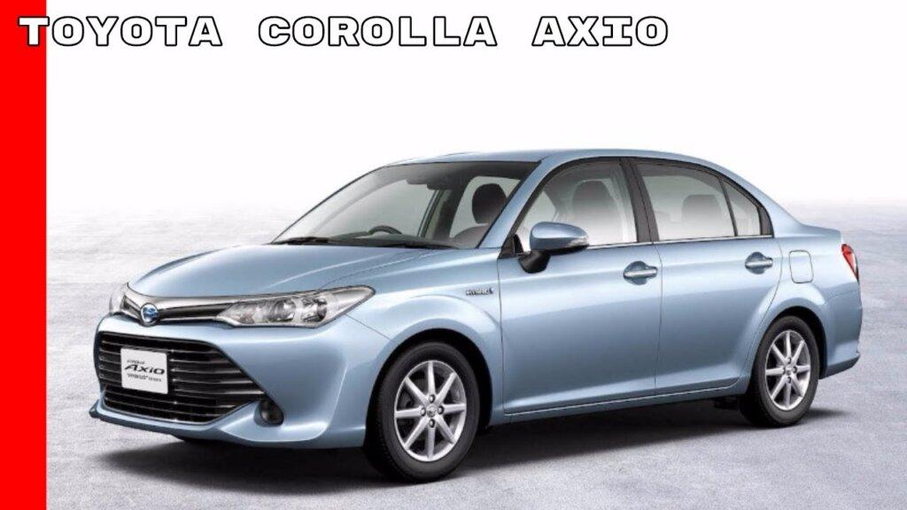 Image of Toyota Corolla Axio