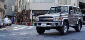 Image of Toyota Land Cruiser 70 Series