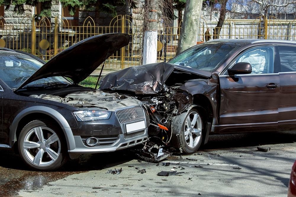 Car accident in Nairobi Kenya